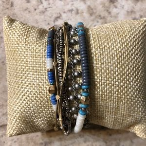 Stella and dot wrap bracelet and necklace